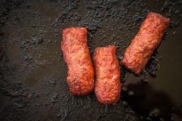 Small Romanian barbecu
