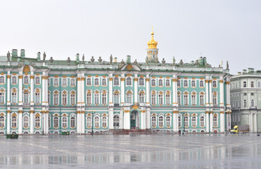 View of Winter Palace.