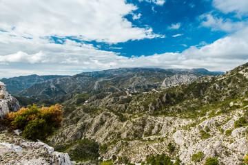 Sierra de Tejeda, Almijara y Alhama Mountains near Nerja, Spain.