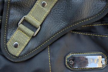 belt of black bag