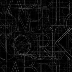 font roler seamless black03