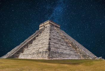 Pyramid in Chichen Itza, Tulum, Cancun, Yucatan, Mexico
