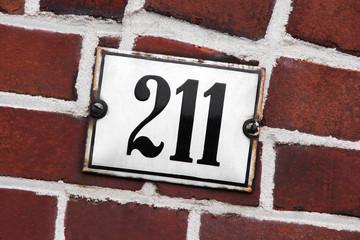 Hausnummer 211