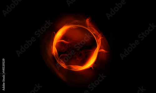 abstract gold ring of fire smoke abstract image for background stockfotos und lizenzfreie. Black Bedroom Furniture Sets. Home Design Ideas