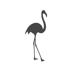 Flamingo Icon - Illustration