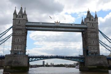 Fond de hotte en verre imprimé Pont Londyn