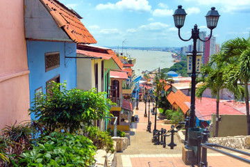 View of Guayaquil, Ecuador