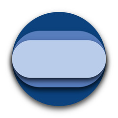 Blue Circle With Round Shapes Inside Vector