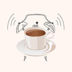 coffee wake up concept