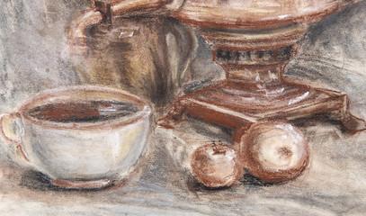 pastel texture pattern, texture painting still life painting