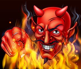 Devil in Hell Fire
