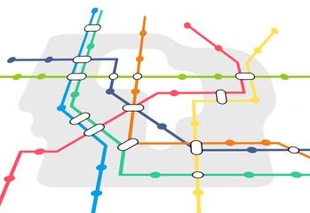 Fahrplan öffentlicher Nahverkehr