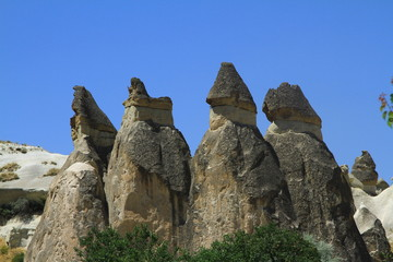 cave Cappadocia in Central Anatolia, Turkey