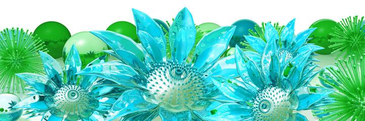 Obraz flowers - fototapety do salonu