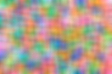 Blurred Abstract background multicolored