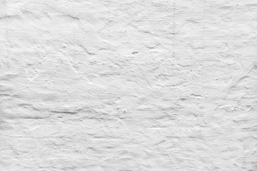 Fototapete - Rough concrete wall with white plaster
