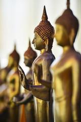 Golden Buddha in church