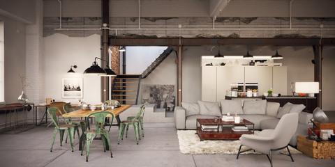 Old vintage Loft Apartment - Alte Fabrikhalle