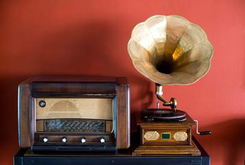 Vintage recording player