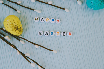 Easter with text