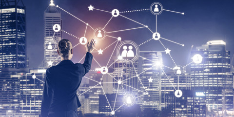 Modern wireless technologies and networking as tool for effectiv