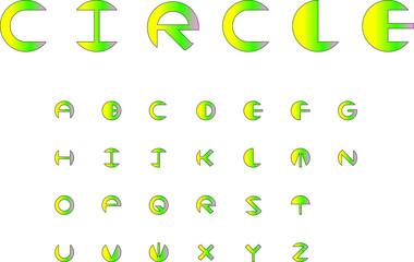 fonts-circle