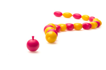 Colorful Beads . Chic fun click