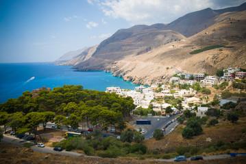 Crete seashore
