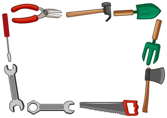 Frame design with many tools