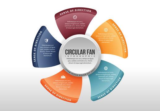 Circular Fan Infographic 1