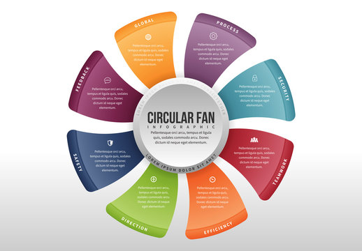 Circular Fan Infographic 4