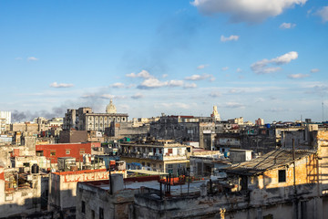Kuba - Havanna - Blick vom Restaurante La Guarida (Erdbeer und Schokolade)