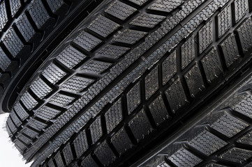 car rubber tire tread