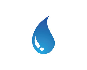 Waters drops blue drink logo
