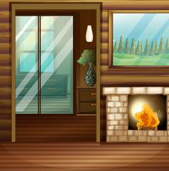 Room design with firework