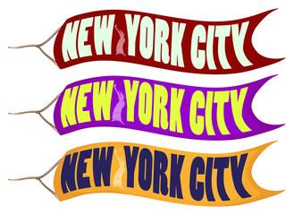 Banner design for New York City