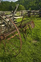 Hay Rake, Pioneer Homestead, Oconaluftee, Great Smoky Mountains NP, NC