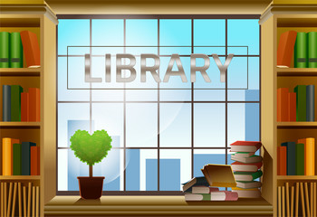 Library is comfortable. Relaxed work. A day of learning.