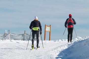 Ski de fond, randonnée sur neige