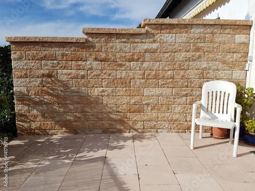 Beliebt Bevorzugt Sichtschutz, Mauer, gemauert