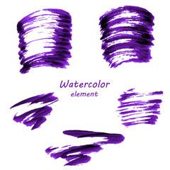 Watercolor vector background.