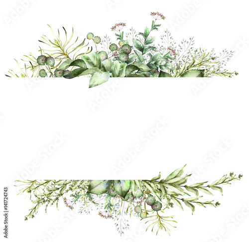 free green floral frame - photo #42