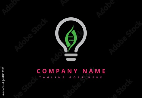quoteco light bulb electric logoquot stock image and royalty