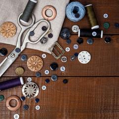 Sewing grey kit