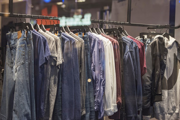 Men casual clothing store in London