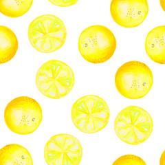Fruit oranges drawn watercolor background