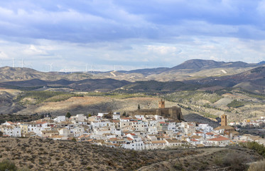 Seron Village , Almeria Province, Andalusia, Spain