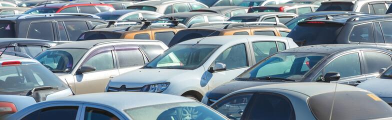 Parking cars Wall mural