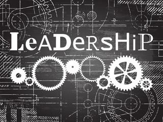 Leadership Blackboard Tech Drawing