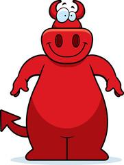 Cartoon Devil Smiling